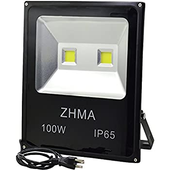 Zhma 100w led flood lights outdoor light with 2x50w sufficient zhma 100w led flood lights outdoor light with 2x50w sufficient wattage led chip floodlight with aloadofball Gallery