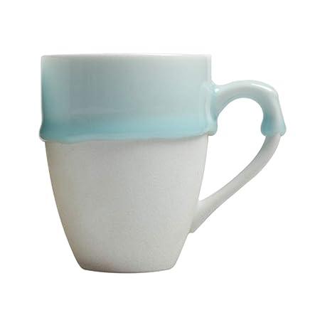 GTSbeiTA Taza Creativa, Pareja de cerámica Taza Leche Taza de ...