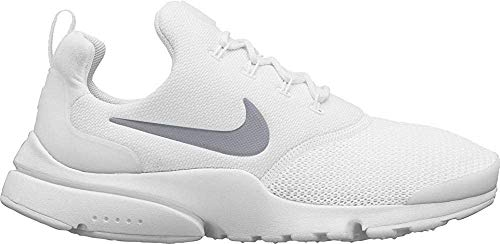 Nike Women's WMNS Presto Fly Competition Running Shoes (White/Metallic Silver 107), 3 UK 3 UK