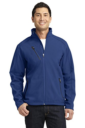 Port Authority Welded Soft Shell Jacket. J324 Estate Blue 2XL