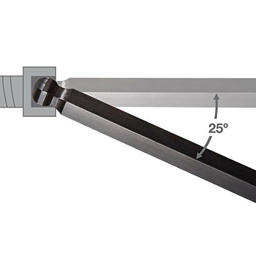 durable modeling Eklind 13222 Metric & Standard 22pc Ball Hex Key Set  - Long