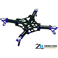 ZealHeli CNC Quadcopter Kit (Blue) - Blade Nano QX