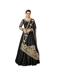 stylishfashion Designer Anarkali Salwar Suit Partywear Gown for Women