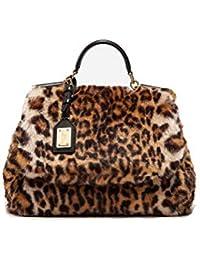 Women's BB6620AM88380006 Beige/Brown Acrylic Handbag