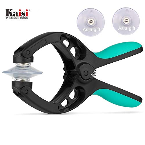 Kaisiking Screen Opening Tools LCD Screen Opening Pliers with Super Strong Suction Cup Platform Repair Tools and Screen Replacement Compatible for iPhone iPad iPod Laptop and All Kinds of Smartphones