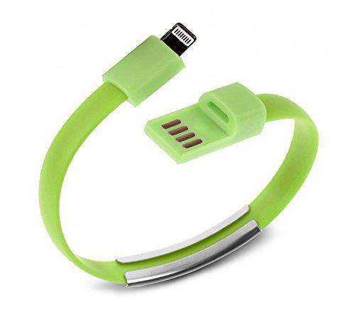 16 opinioni per BRACCIALE CAVO DATI USB COMPATIBILE IPHONE 5- 5S- 6 CON FUNZIONE DI