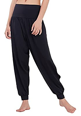 Matymats Women's High Waist Bootcut Yoga Pants Tummy Control Active Workout Flare Bootleg Pants with Pockets