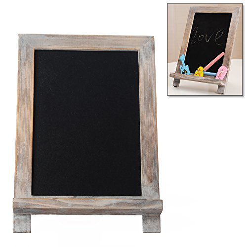 Rustic White Washed Brown Chalkboard Tabletop