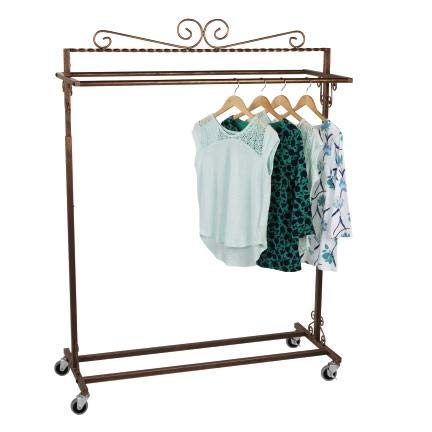 Amazon.com: SSWBasics Boutique - Perchero de doble barra ...