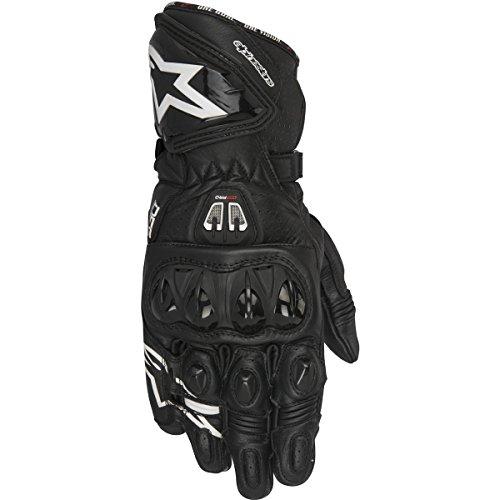 - Alpinestars GP Pro R2 Leather Motorcycle Gloves Black MD