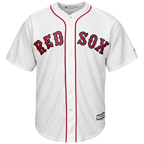 Boston Red Sox Home White Cool Base Jersey (XXXXL)