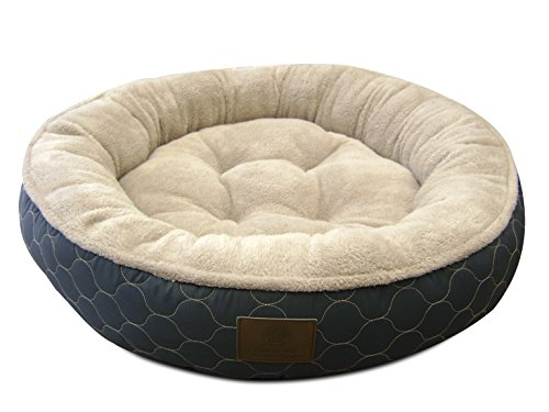 American kennel club akc3198gray american kennel club akc for Round bed designs with price