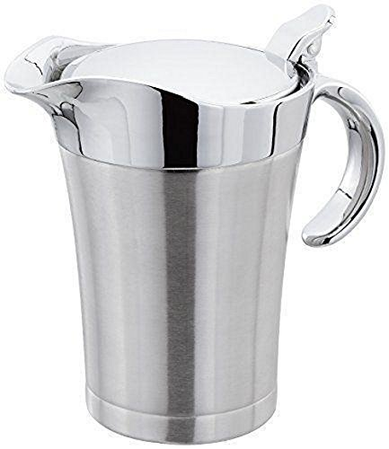 Kabalo Stainless Steel Gravy Boat Large Double Insulated Sauce Serving Jug Pourer 500ml