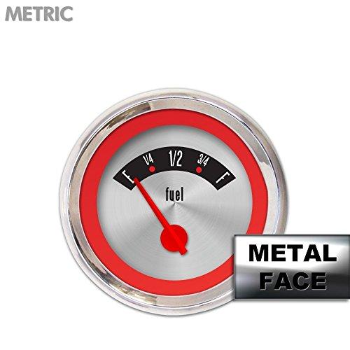 American Retro Rodder Red Fuel Level Gauge GAR25ZMXKABCE Aurora Instruments