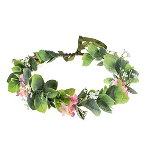 Love Sweety Succulent Flower Crown Eucalyptus Halo Wedding