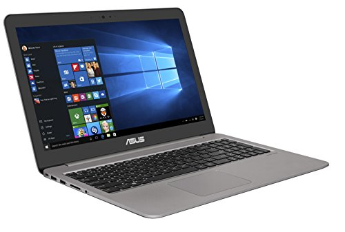 Asus Zenbook UX510UX-CN180T 39,6 cm (15,6 Zoll mattes FHD) Notebook (Intel Core i5-7200U, 8GB RAM, 256GB SSD, 1TB HDD, Nvidia GTX950M, Win 10) grau