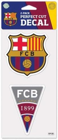 4 x 8 Wincraft FC Barcelona Perfect Cut Die Cut Decal
