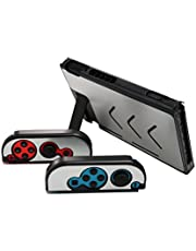 Aluminum Anti-Scratch Dustproof Hard Back Protective Case Cover Shells for Nintendo Switch NS Console with Joy-Con Controller (Silver)