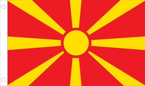Allied Flag Outdoor Nylon Macedonia United Nation Flag, 5-Feet by 8-Feet Review