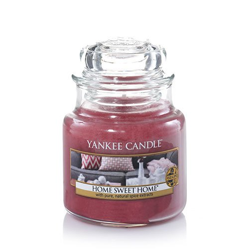 Yankee Candle Home Sweet Home Small Jar Candle, Food & Spice Scent