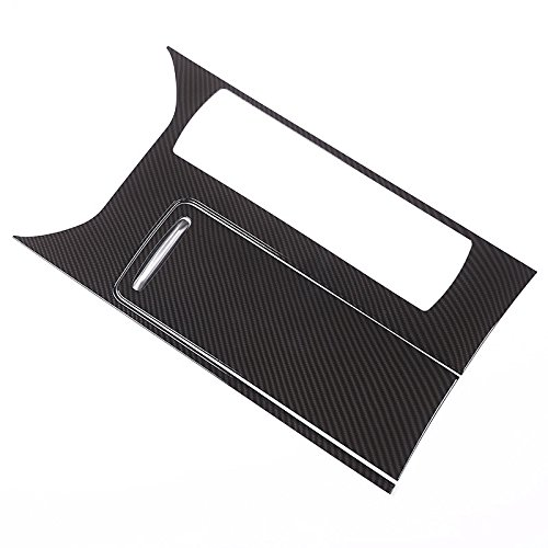 Carbon Fiber Style ABS Plastic Center Console Panel Cover Accessories Land Rover Range Rover Sport 2014 2015 2016 2017 Range Rover Sport Accessories
