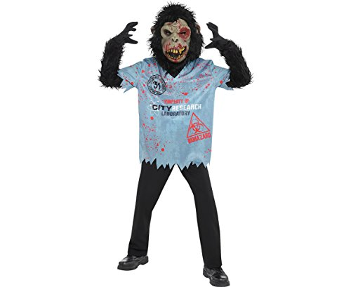 Amscan Zombie Chimp Costume - Medium (8-10)