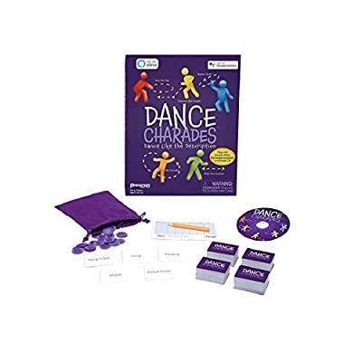 Pressman Dance Charades Game: Can Be Played with Included CD, Alexa Skills or Google Assistant: Toys & Games