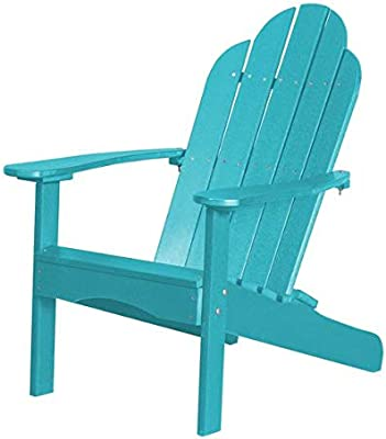 Amazon Com Lifetime Faux Wood Adirondack Chair Gray