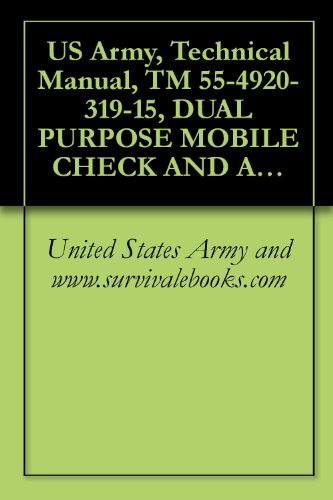 US Army, Technical Manual, TM 55-4920-319-15, DUAL PURPOSE MOBILE CHECK AND ADJUSTMENT/GENERATOR STAND FOR AUXILIARY POWER UNITS, T-62T-2 A T-62T-2A,