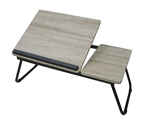 Adjustable Laptop Table, Portable Bed Tray, Book Stand With Foldable Legs (Breakfast Room Decor)