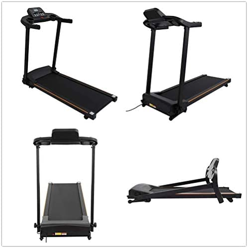 """MENGQIN Home Foldable Running Machine Easy Setup & Storage with LCD Display Screen and 16"""" x 44"""" Walking Surface 2.0HP Running Machine [ U.S. Shipping ] 5"""