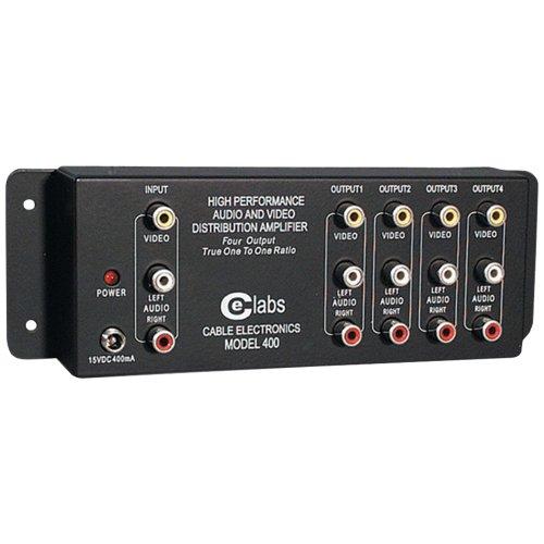 - CEIAV400 - CE LABS AV 400 Prograde Composite A V Distribution Amplifiers (1 input - 4 output)