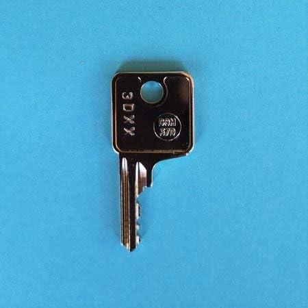Ersatzschlüssel Für Anhängerkupplungen Von Thule Und Brink Schlüssel Code Von 3d01 Bis 3d57 Schlüssel 3d Baumarkt