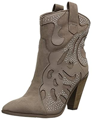 Carlos by Carlos Santana Women's Sterling, Hearth Taupe, 11 M M US