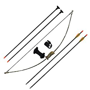 Sinoart archery bow and arrow set for kids children youth for Bow fishing games