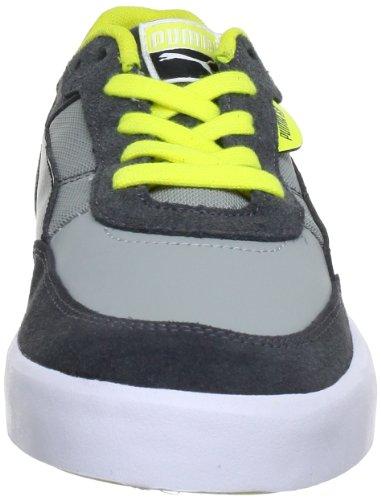 Puma Drez S 354485 Jungen Sneaker Blau (dark shadow-limestone gra 02)
