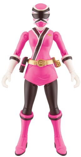 Power Rangers Samurai Action Figure Samurai Ranger Sky (Pink), 4 Inch ()
