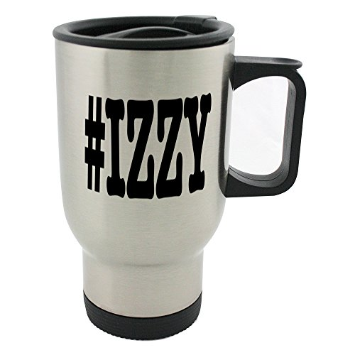 Désignant des villes Izzy Surnom Mot-clic Mug 396,9gram en acier inoxydable