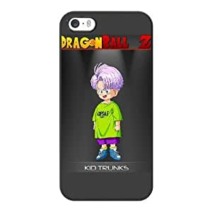 HD exquisite image for iPhone 5 5s Cell Phone Case Black kid trunks dragon ball z AMI6493565