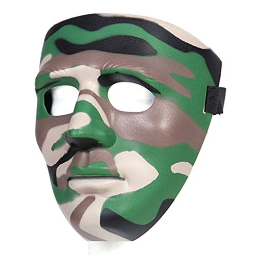 TACTICAL Camouflage MASK Woodland Face Protection Airsoft Robber Commando Bundeswehr US Army KSK GSG9 Humor Horror OPS Carnival