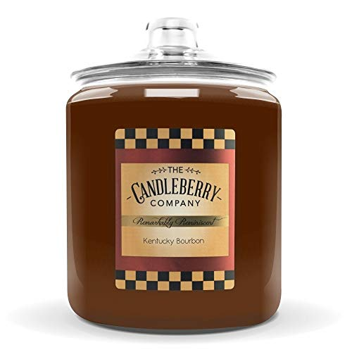 Candleberry Kentucky Bourbon 160 oz Candle - Giant Cookie Jar Candle