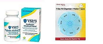 VSI 3 cápsulas probióticas de alta potencia para la colitis ulcerosa-60 EA by Sigma
