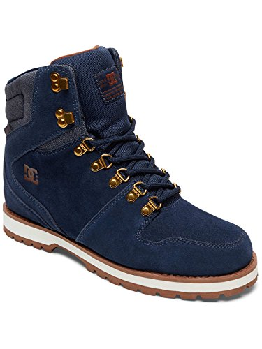 DC Shoes Peary, Stivali Classici Uomo Bleu - Navy/Dk Chocolate