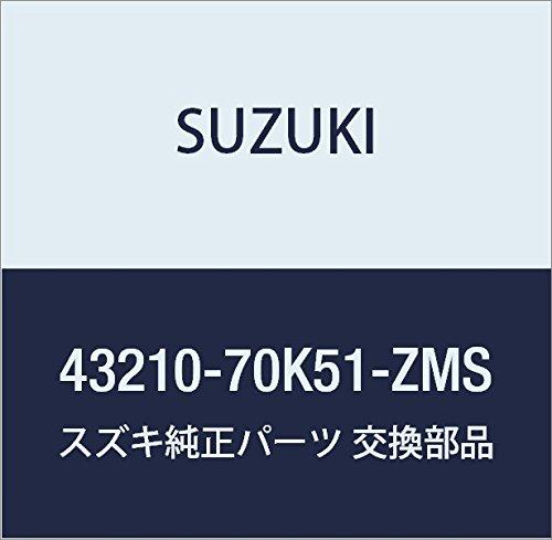 SUZUKI (スズキ) 純正部品 ホイール アルミ)15X4 1/2J)(ブラック) ワゴンR/ワイドプラスソリオ 品番43210-70K51-ZMS B01M0W1LBS