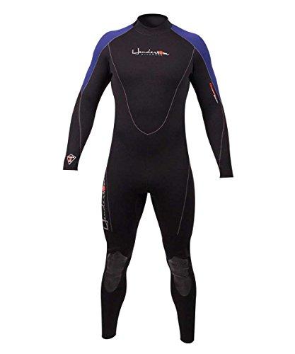 Henderson Thermoprene 3mm Men's Jumpsuit (Back Zip) - Black/Blue - 2X-Large Short
