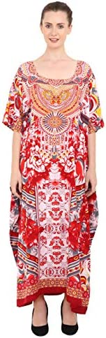 Miss Lavish London Kaftan Tunic One Size Maxi Dress Sleepwear Embellished Kimonos