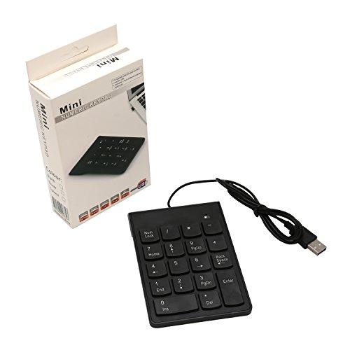 Connectland CL-USB-NUMSPC USB Numeric keypad with 19 keys + Space Bar