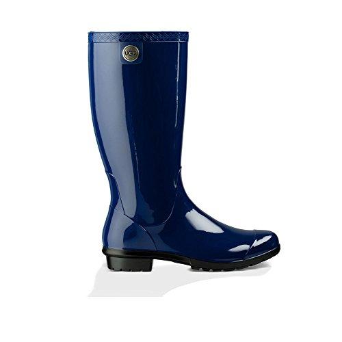 (UGG Women's Shaye Rain Boot, Blue Jay, 9 B US )