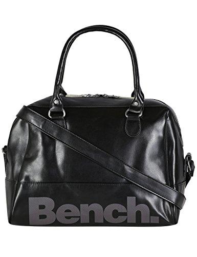 Bench Damen Bowling Handtasche, jet black, 30 x 13 x 23 cm, 9 liters, BLXA0831