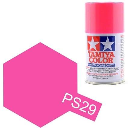 0bcaeb292034c Tamiya Polycarbonate PS-29 Fluorescent Pink Spray Paint